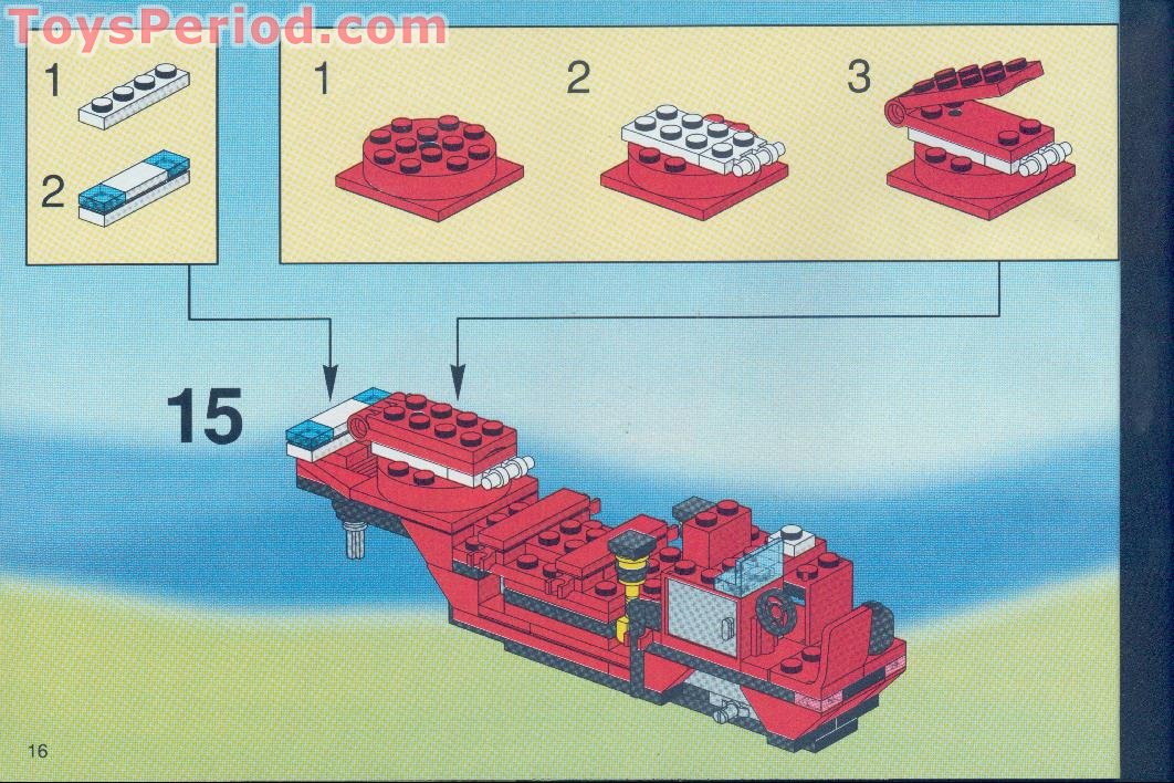 LEGO 6340 Hook and Ladder Set Parts Inventory and ...