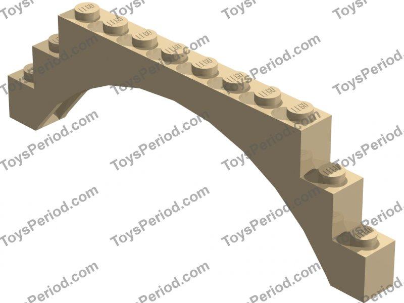 1x LEGO® Bogenstein Arch 1x12x3 #6108 18838 14707 in versch Farben