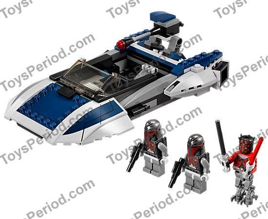 LEGO Mandalorian Super Commando 75022 Star Wars Lot of 5 Minifigures