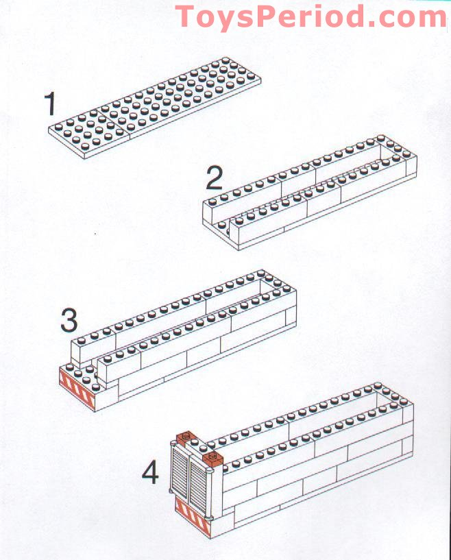lego mail truck instructions