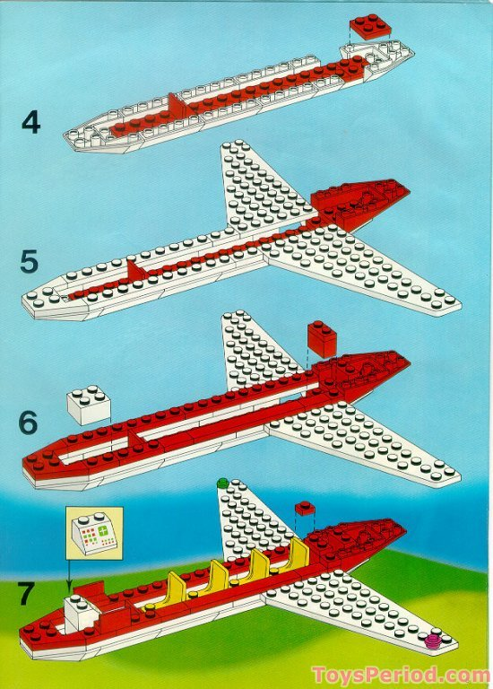lego 6392 airport set parts inventory and instructions lego reference guide. Black Bedroom Furniture Sets. Home Design Ideas