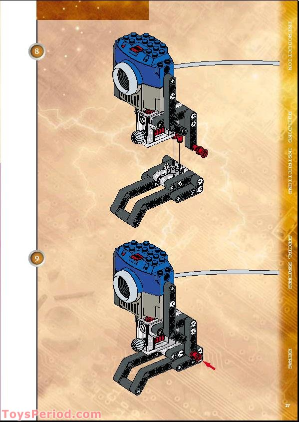 Lego 9731 Vision Command Digital Color Camera Set Parts Inventory