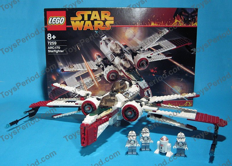 lego star wars arc 170 instructions