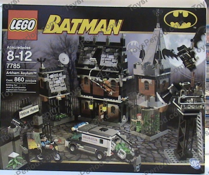 lego batman arkham asylum instructions