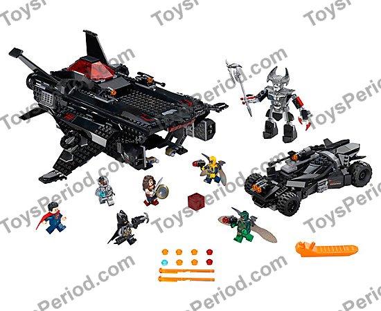 Batmobile Airlift Attack 100/% LEGO Superman w//jumper Plate 76087 Flying Fox