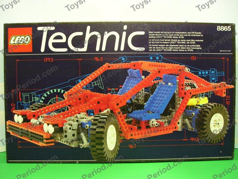 Technic Sets Lego 8865 Test Car Vintage Technic Advanced Auto Set New
