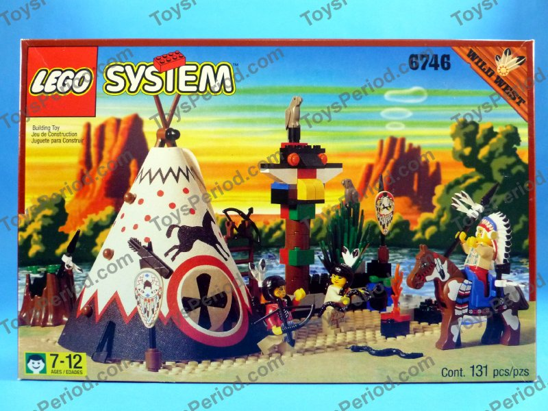 LEGO 6746 Chiefs Tepee Wild West Native American Indian