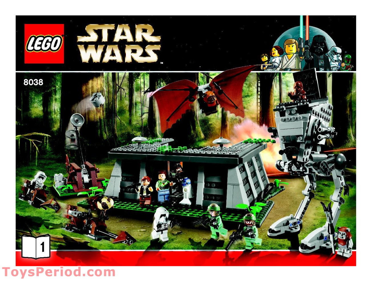 Lego 8038 The Battle Of Endor Set Parts Inventory And