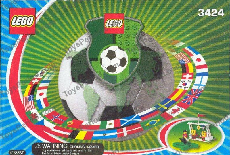 NEW Lego 3424 Soccer Football Target Practice