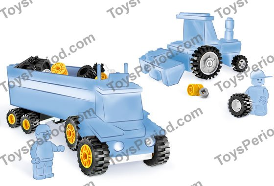 Lego Wheel Rigid 3x3x3 6118 White x8; ideal for Space Ice Planet buggies!