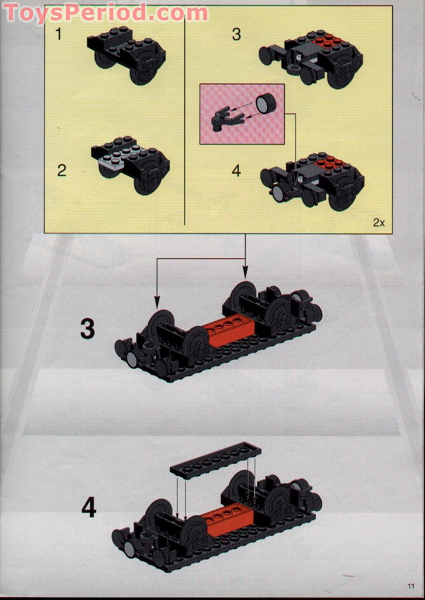 lego classic train instructions