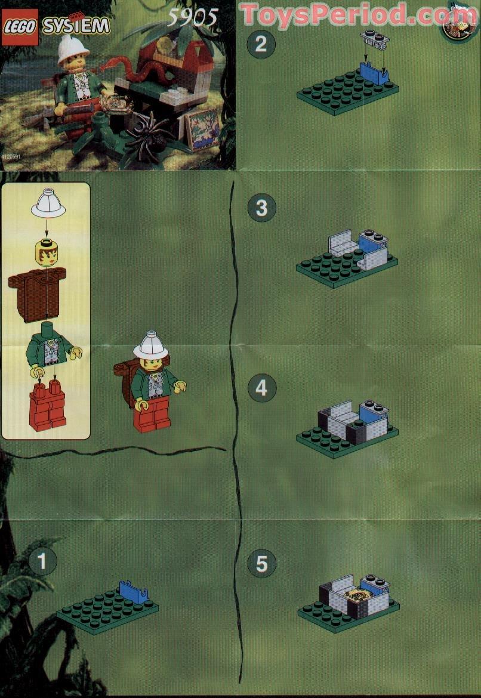 Lego 5905 Hidden Treasure Set Parts Inventory And