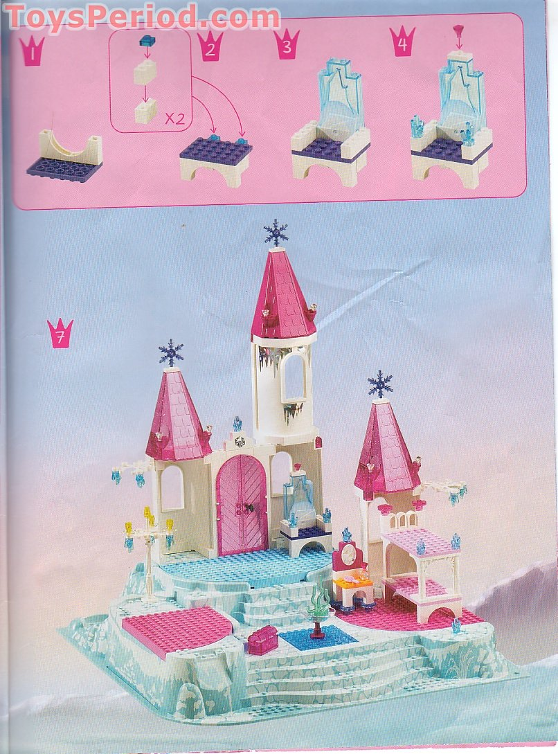 Lego 7577 Winter Wonder Palace Set Parts Inventory And
