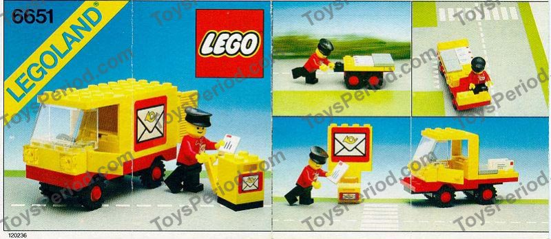 x3 LEGO Decorated Tiles FREE POST - Classic Post Letter Mail