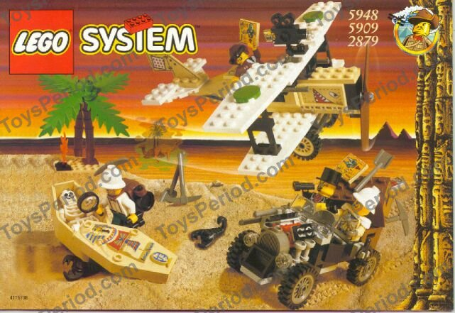 LEGO 5948 Treasure Raiders Set Parts Inventory and Instructions ...