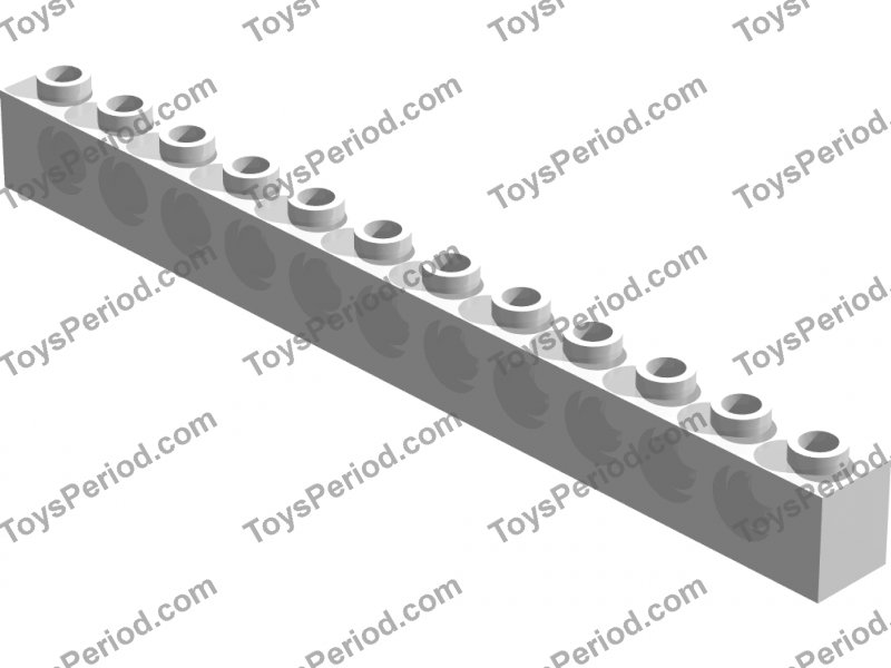 Brick 1 x 12 with Holes 3895 BLUE LEGO Parts~Technic, 2