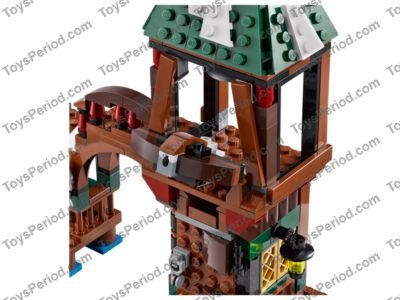 Lego The Hobbit 79016 Attack on Lake-town 313pcs New Sealed 2014