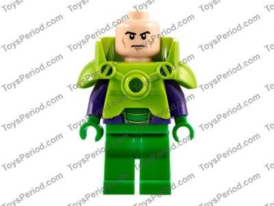 Lego 10724 Batman Superman Vs Lex Luthor Set Parts Inventory And