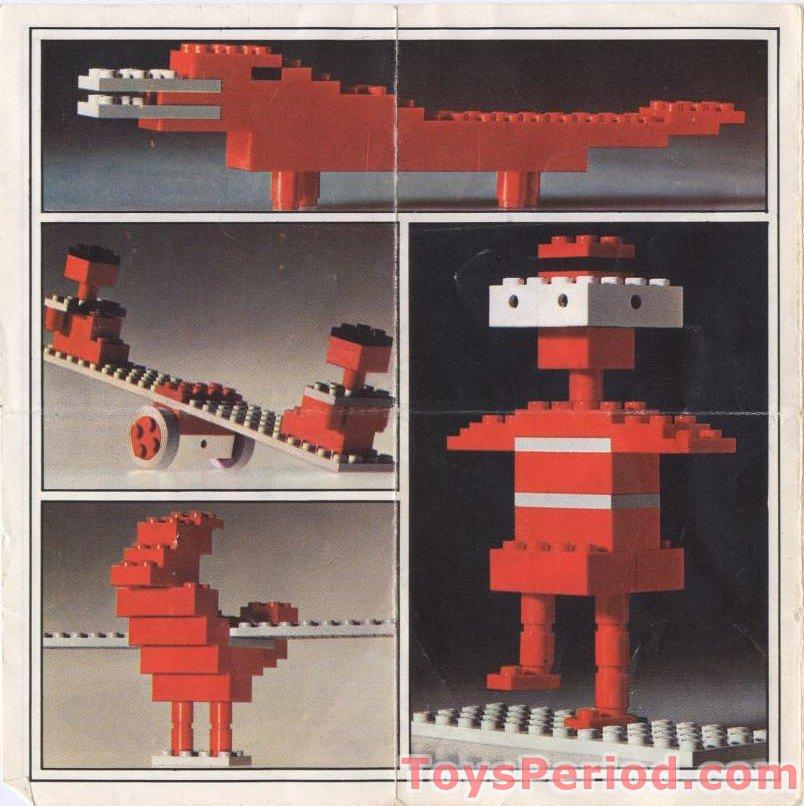 Lego 328 2 Biplane Set Parts Inventory And Instructions Lego