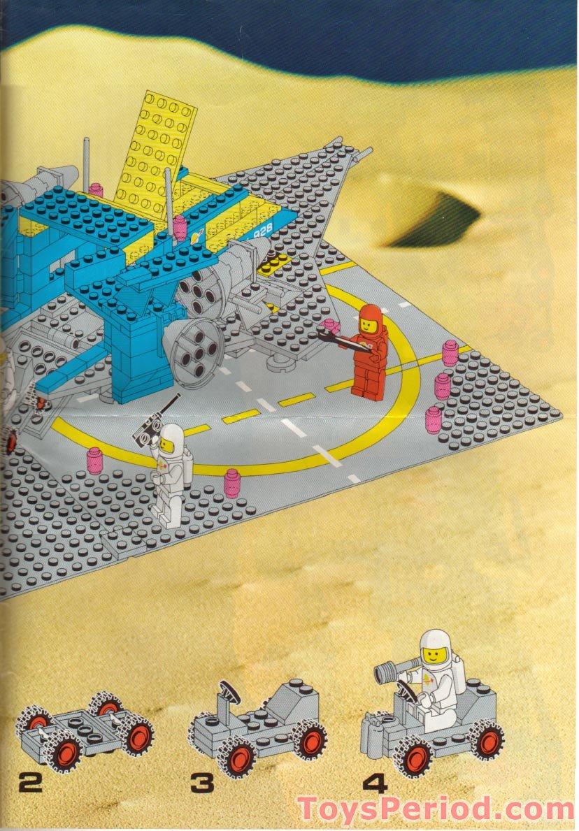 "Original LEGO Art 497 Galaxy Explorer Classic Space Blueprint 11/""x17/"" Poster"