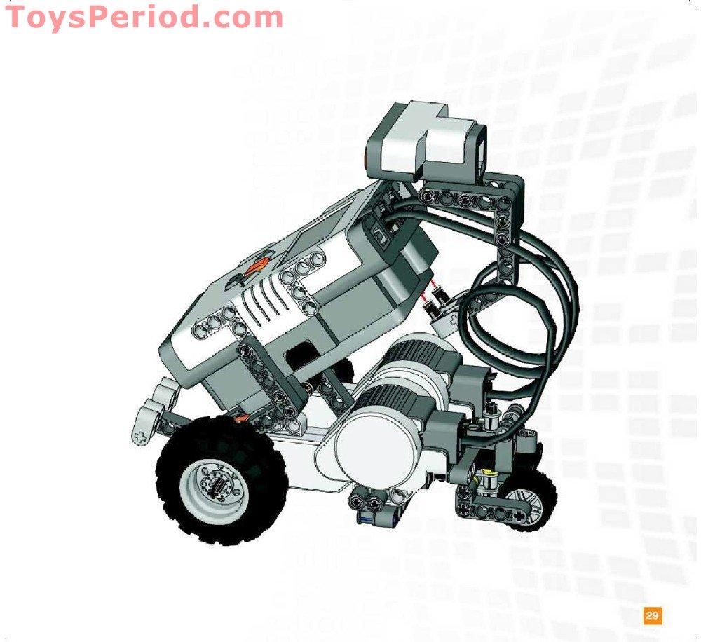 Lego 9797 Lego Mindstorms Education Nxt Base Set Set Parts Inventory