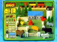 Brio Brio 33575 Farm Wooden Railway Rural Add On Play