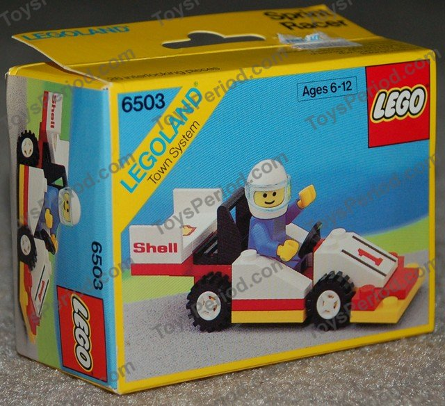 Lego 6503 Sprint Racer Set Parts Inventory And Instructions Lego