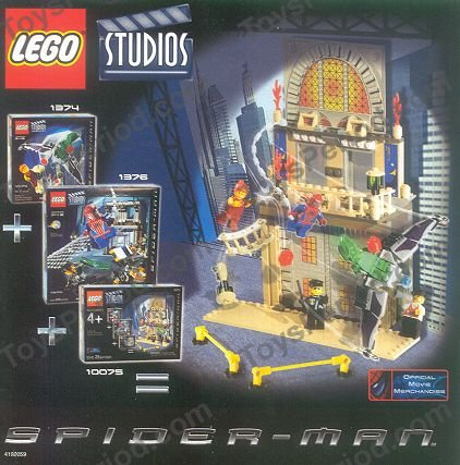 lego spiderman helicopter instructions