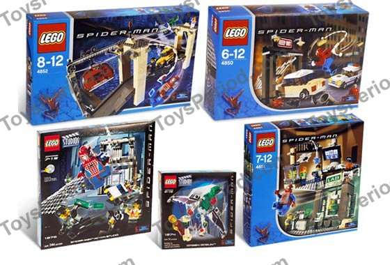 lego spider man 3 sets - photo #12