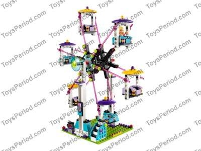 LEGO 41130 Amusement Park Roller Coaster Set Parts Inventory and ...
