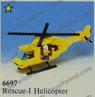 6697 LEGO® Bauanleitung Instruction Nr