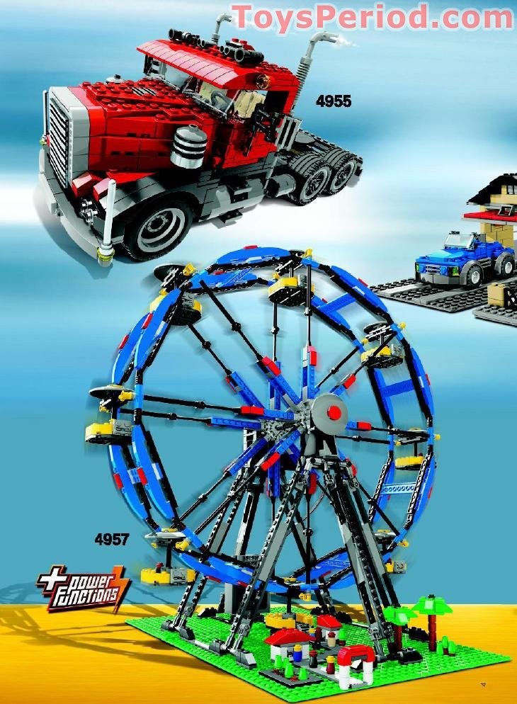 Lego 4957 Ferris Wheel Set Parts Inventory And Instructions Lego