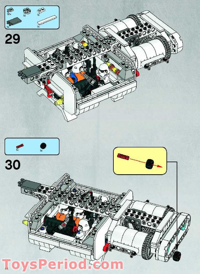 Lego imperial Landing craft manual