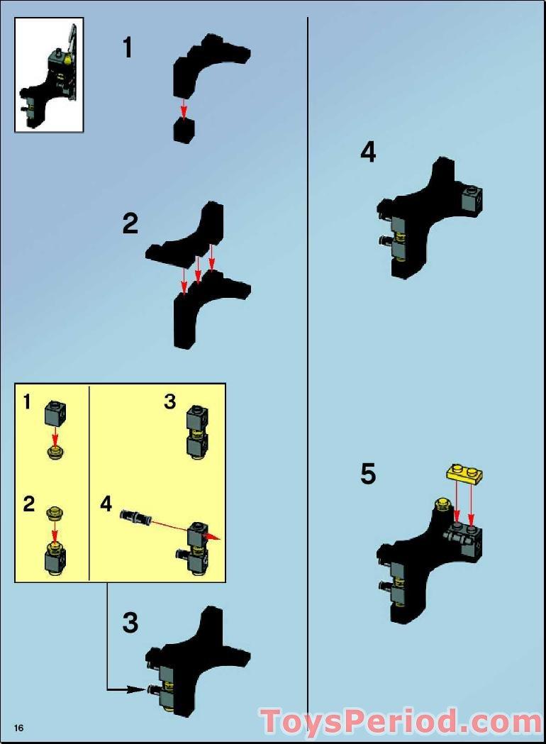 lego batman 7780 instructions