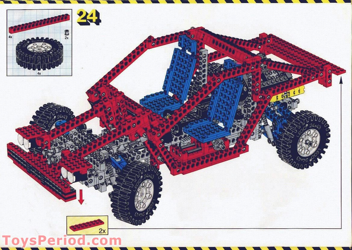 red lego car instructions