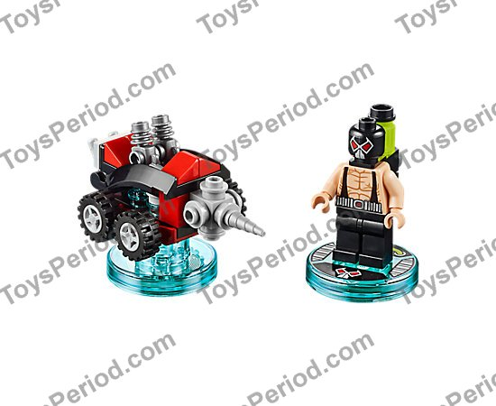 Lego Dimensions 71240 Bane Fun Pack Discs//Tags Only New
