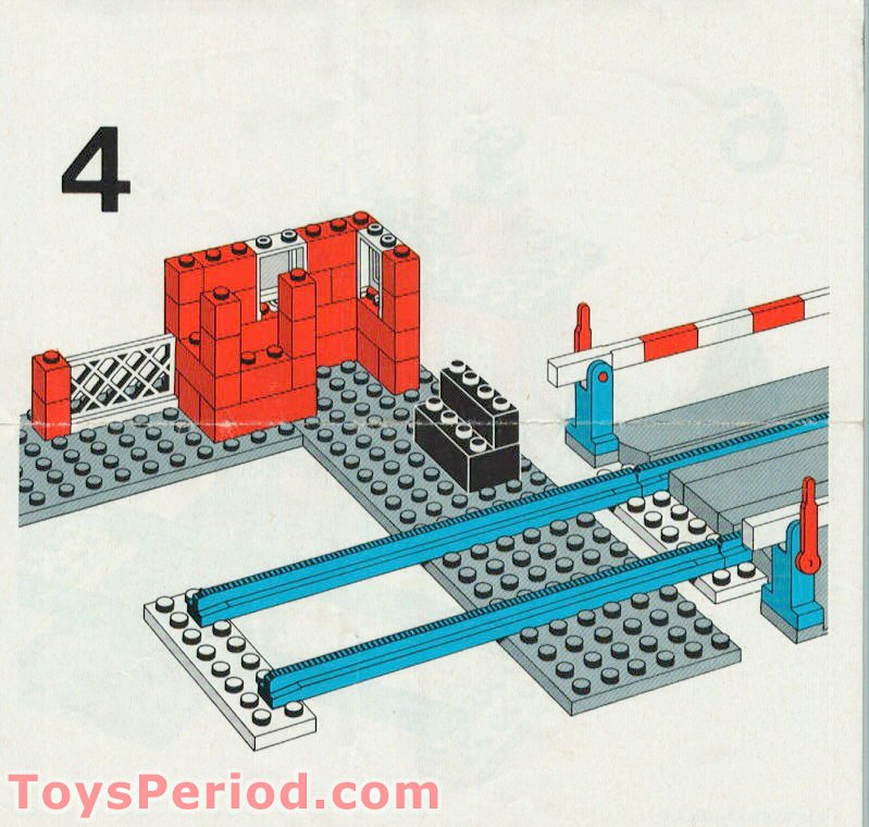 lego level crossing instructions