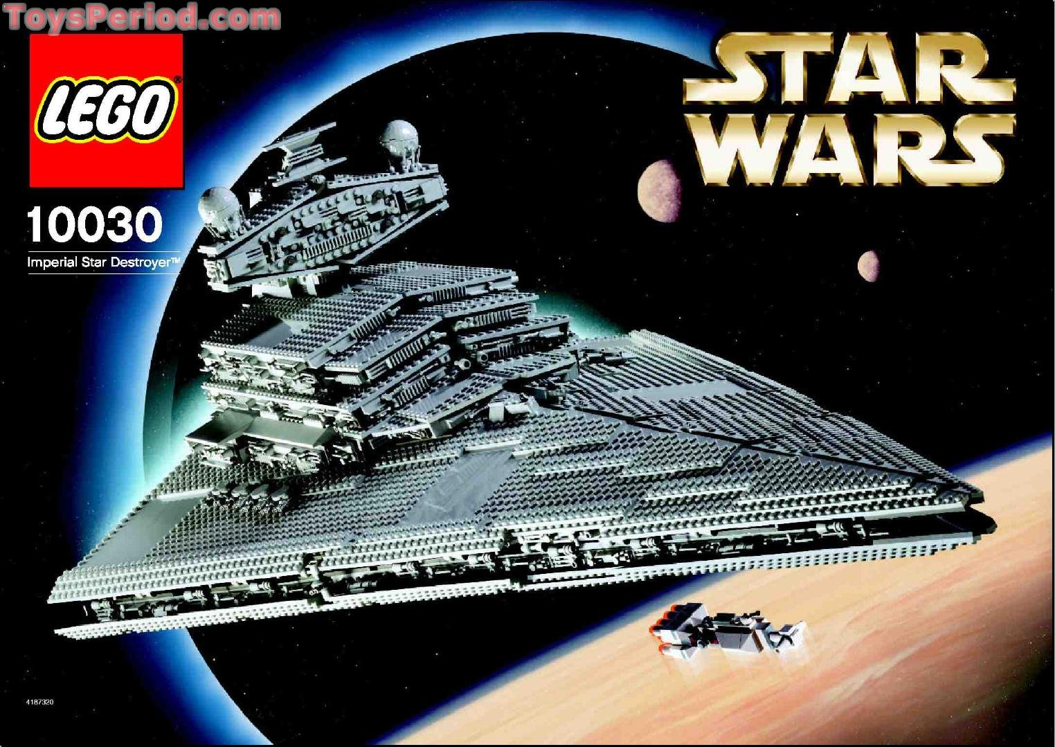 Lego 10030 imperial star destroyer ultimate collector - Lego star wars 1 2 3 4 5 6 ...