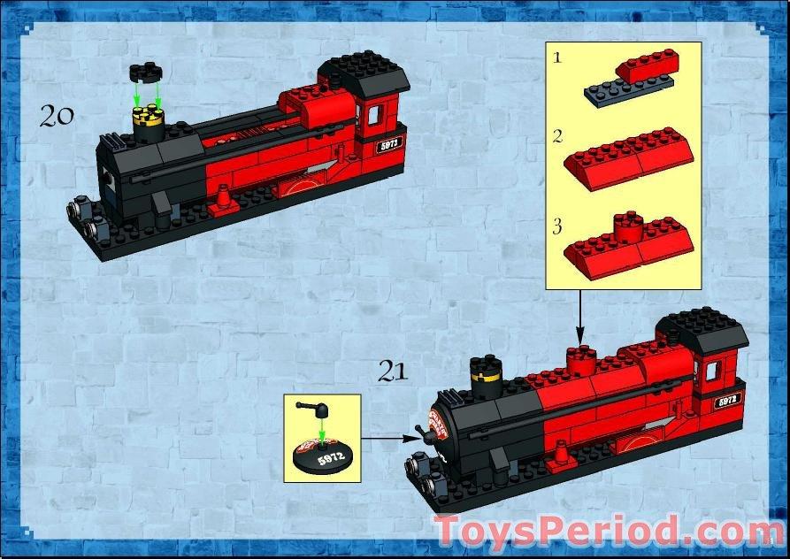 lego hogwarts express 5972 instructions