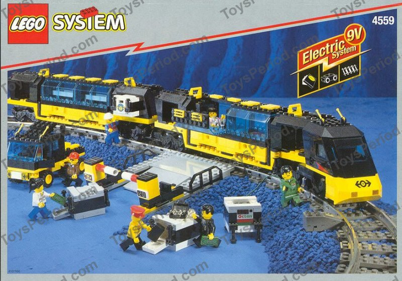 Lego 4559 Cargo Railway Set Parts Inventory And Instructions Lego