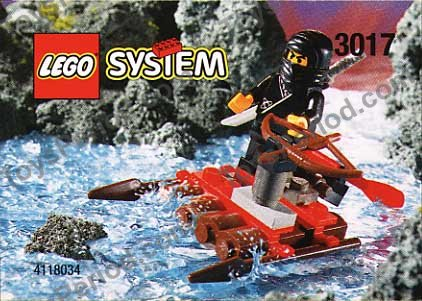 Lego 3017 Mini River Ninja Set Parts Inventory And Instructions