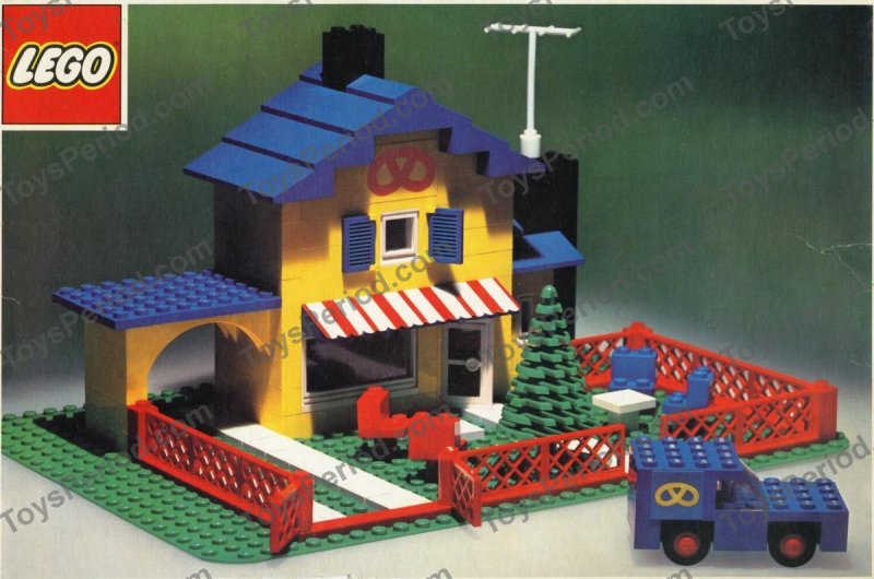 lego building instructions 1980