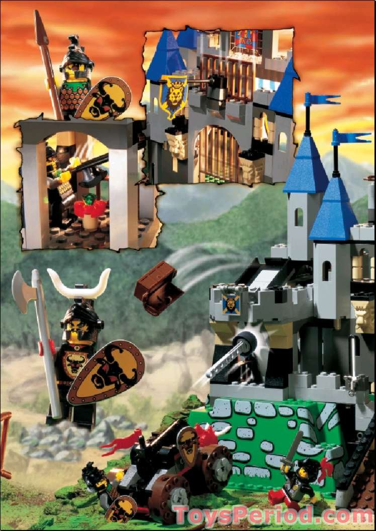 Lego 6098 King Leo S Castle Set Parts Inventory And
