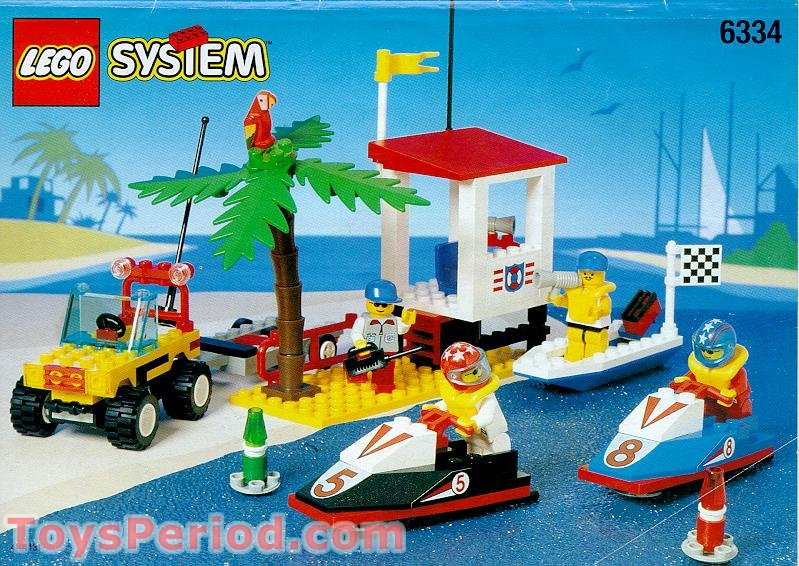 Lego 6334 Wave Jump Racers Set Parts Inventory And Instructions
