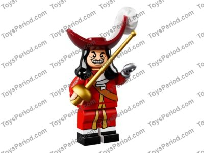 Lego captain hook disney series choose parts legs torso head hat sword foil epee