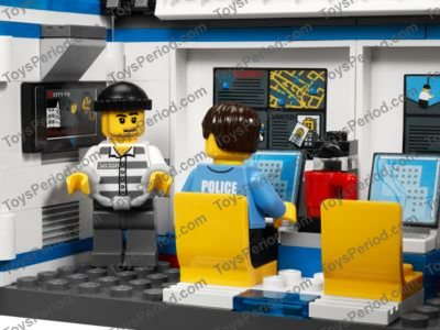 Lego 7288 Mobile Police Unit Set Parts Inventory And Instructions
