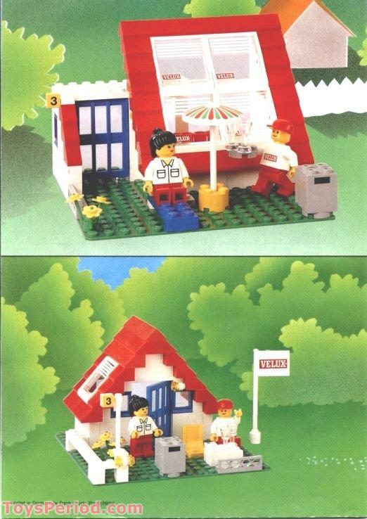 Lego 1854 Velux Promotional Set House Set Parts Inventory