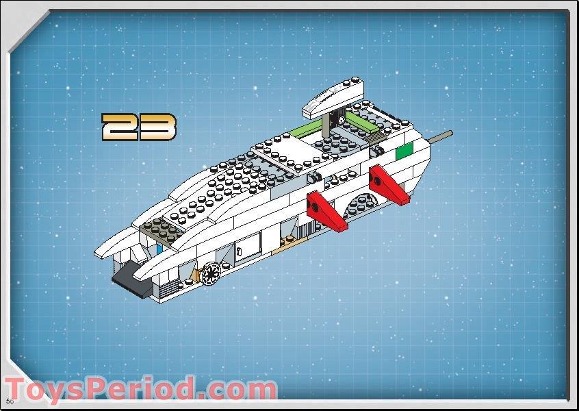 lego republic gunship 75021 instructions