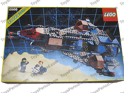 Lego 6986 mission commander set parts inventory and instructions.