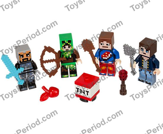 Lego 853609 Lego Minecraft Skin Pack 1 Set Parts Inventory And